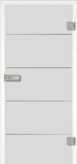 Design 20.1 Ganzglas Tür